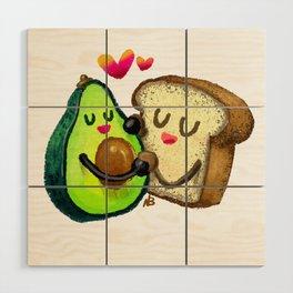 Avocado Toast Wood Wall Art