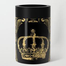 Gold Crown Can Cooler