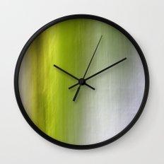 Abstract Reedbed Wall Clock