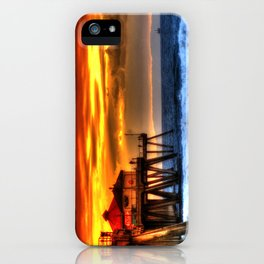 Northside Huntington Beach Pier iPhone Case