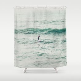 Wide Open Space San Diego Shower Curtain