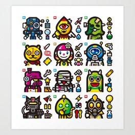 STRANGE SQUAD Art Print