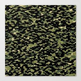 Camouflage: Jungle III Canvas Print