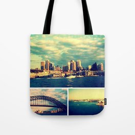 Postcards from Sydney Tote Bag