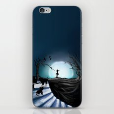 My Part to the Longest Illustration. iPhone & iPod Skin