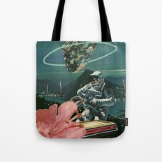 Midnight Ascent Tote Bag