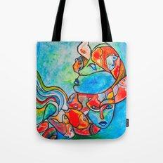 Water Souls Tote Bag
