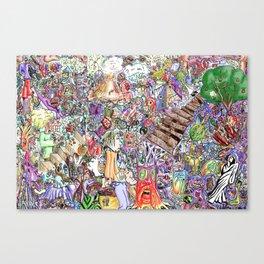 collective ink, VeinEye edition Canvas Print