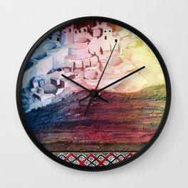Inquisitive Playground 2 Wall Clock