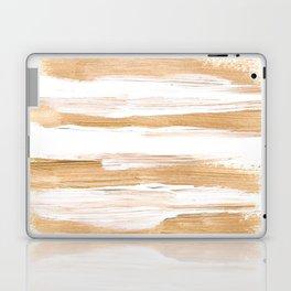 Golden Strokes Laptop & iPad Skin