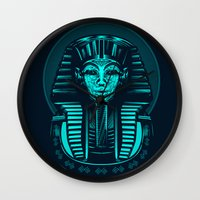egypt Wall Clocks featuring Egypt by nicksimon