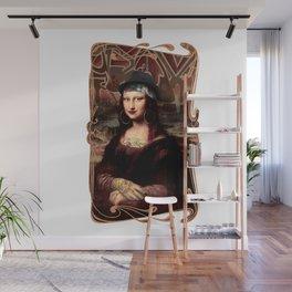 Chicana Mona Lisa Wall Mural