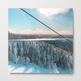 Snowy Horizon #1 Metal Print