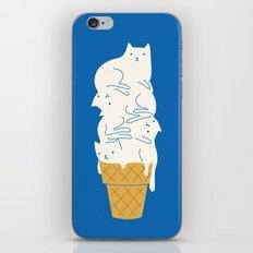 Cats Ice Cream iPhone & iPod Skin