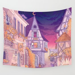 Spooky night Wall Tapestry