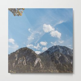 Mountains in the background XXIV Metal Print