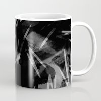 noir Mugs featuring Noir by Raluca Ag