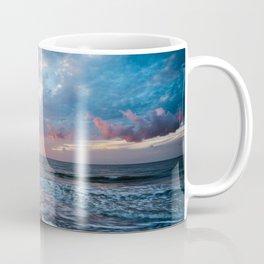 Daybreak at Hilton Head - Sunrise Along Beach at Hilton Head Island in South Carolina Coffee Mug