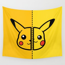 Old & New Pocketmonster Wall Tapestry