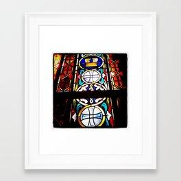 Stained Glass 1 Framed Art Print