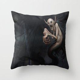 Wild Vampire Throw Pillow