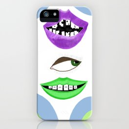 Lips of a NightDream iPhone Case