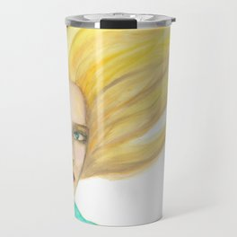 Emily in the Wind Travel Mug