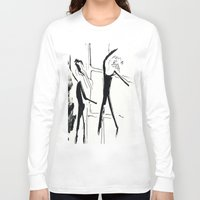 ballet Long Sleeve T-shirts featuring Ballet by Anna Egorova