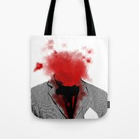 danny ivan Tote Bags featuring Danny by NicholasB