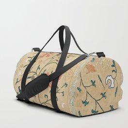 Uzbekistan Suzani Nim Embroidery Print Duffle Bag