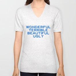 Wonderful Unisex V-Neck
