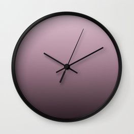 Dusky Rose Wall Clock