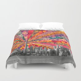 Blooming Toronto Duvet Cover