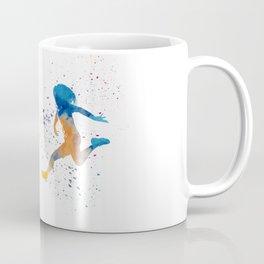 Women soccer players 01 in watercolor Coffee Mug