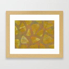 Geometric No. 4 Framed Art Print
