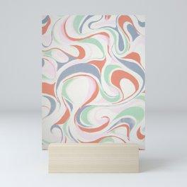 Abstract print design Mini Art Print