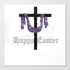 Easter Cross Canvas Print