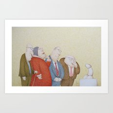 The Art Adjudicating Committee Art Print