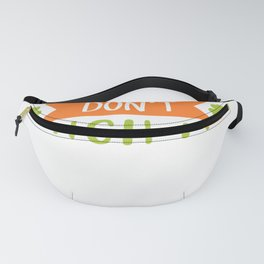 New St. Patrick's Day Kiss Me Don't Pinch Me Fanny Pack