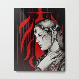 Tranquil mage Metal Print