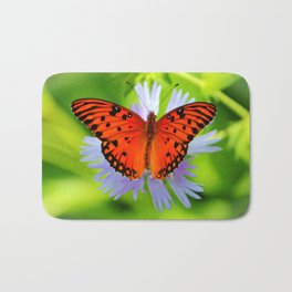 Passion Butterfly Bath Mat