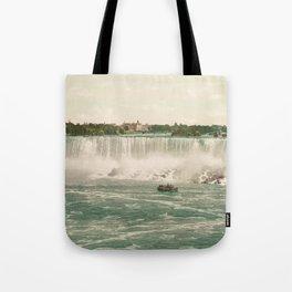 Niagara American Falls circa 1900 Tote Bag