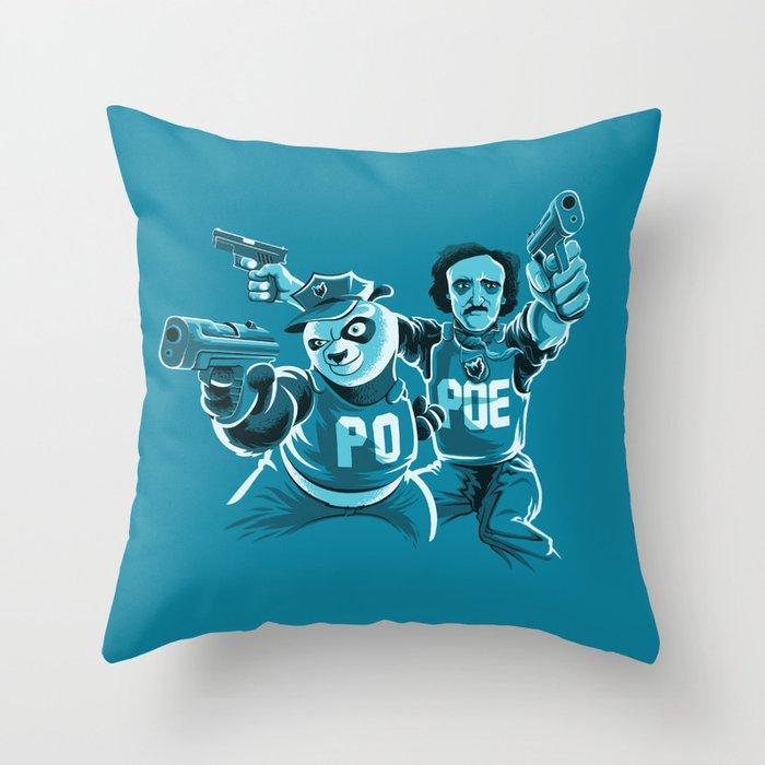 Beware the PoPoe Throw Pillow