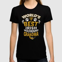 World's Best Irish Wolfhound Grandma T-shirt