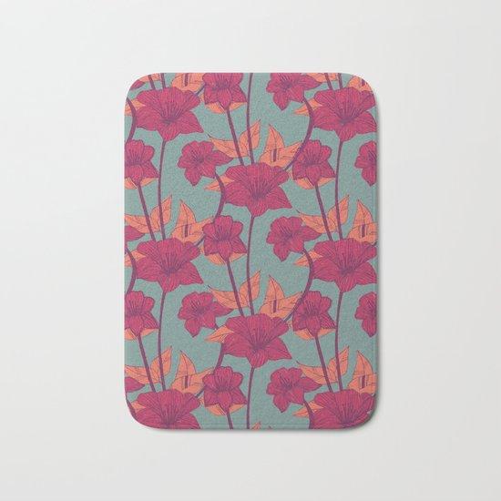 Vintage Blossoms Bath Mat