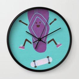 KickFlip Flop Wall Clock