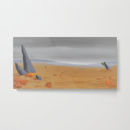 Fields of Urgalians Metal Print