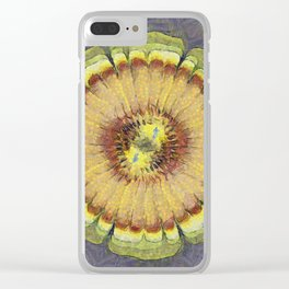 Aware Concord Flower  ID:16165-131626-59460 Clear iPhone Case