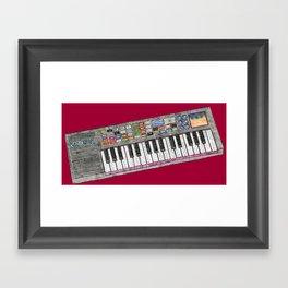 rock on Framed Art Print