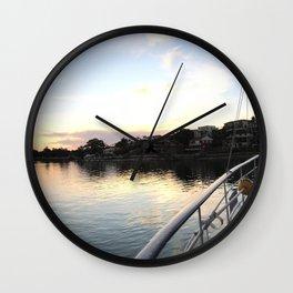 Barely a ripple Wall Clock
